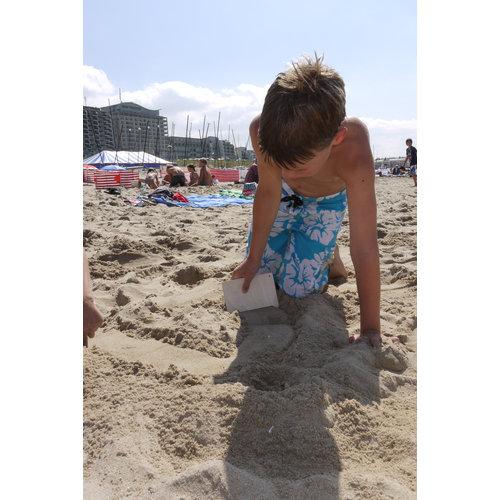 Speelbelovend Zomerse zandkammen - Set van 5 kammen