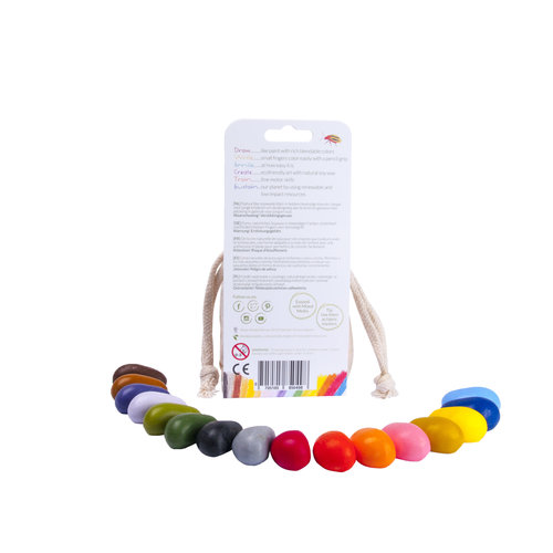 Crayon Rocks Crayon Rocks - 16 stuks in ecru zakje