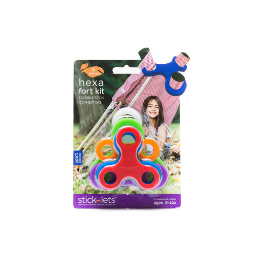 Stick-lets Stick-lets - Hexa kit 6 stick-lets