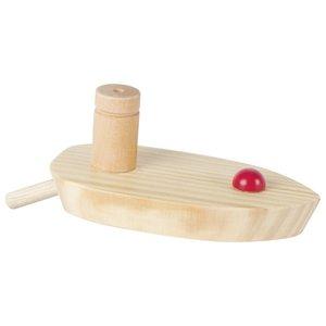 Goki Buitenspeelgoed - Houten ballonbootje
