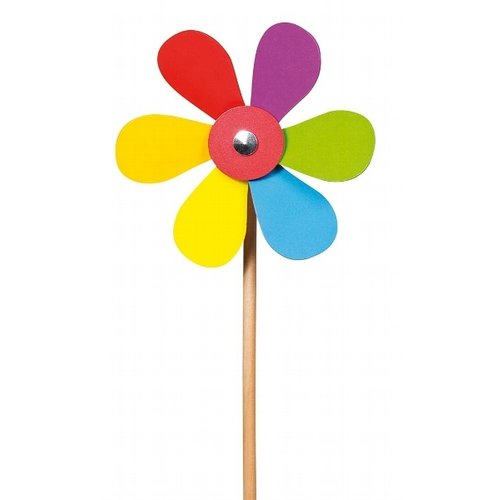 Goki Buitenspeelgoed - Windmolen bloem (hout)