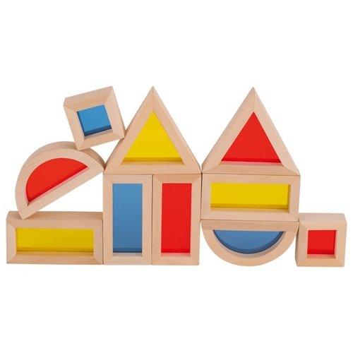 Goki Bouwblokken - Bouwblokken met venster 21 stuks