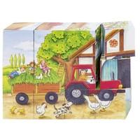 Blokkenpuzzel - Seizoenen op de boerderij
