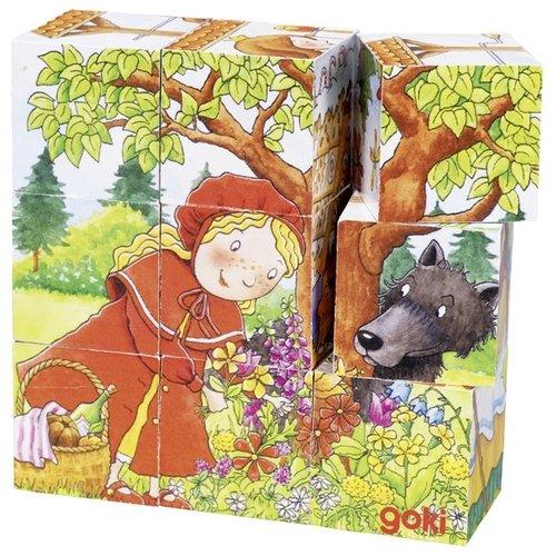 Goki Blokkenpuzzel - Sprookjes