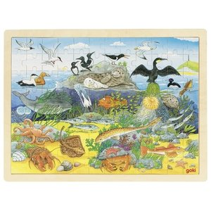 Goki Legpuzzel - De zee - onder en boven water