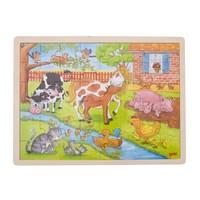 Legpuzzel - Het leven op de boerderij