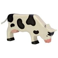Holztiger - Koe, grazend