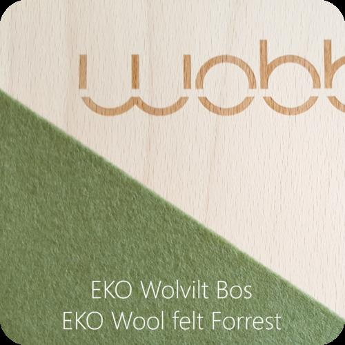 Wobbel Wobbel XL - Blank gelakt bos