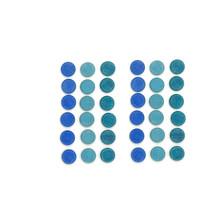Grapat Mandala, Kleine blauwe munten