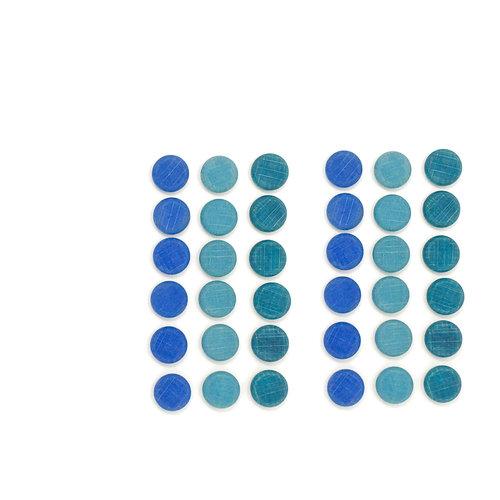 Grapat Grapat Mandala, Kleine blauwe munten