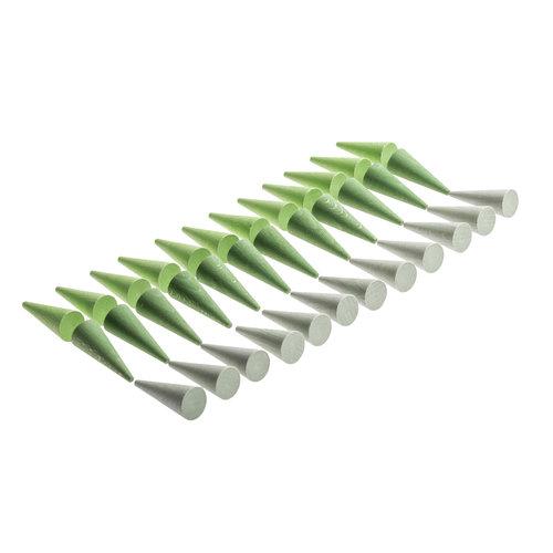 Grapat Grapat Mandala, Groene kegels