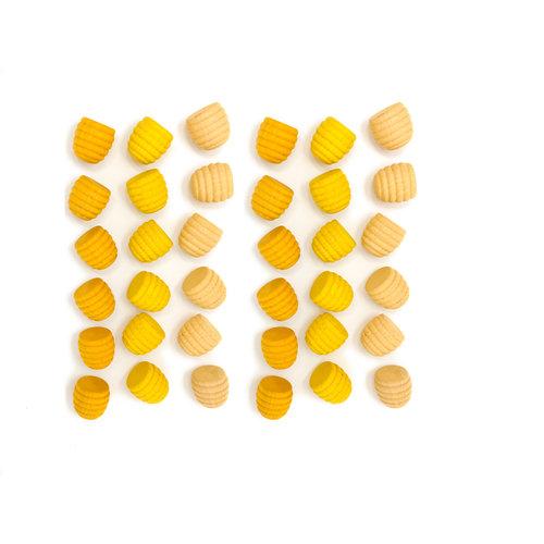 Grapat Grapat Mandala, Gele bijenkorven