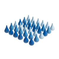 Grapat Mandala, Blauwe druppels