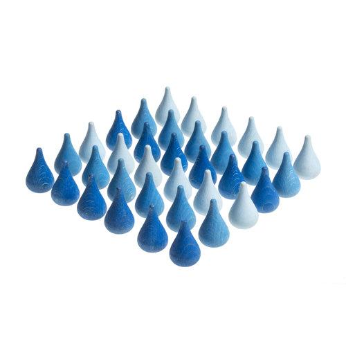 Grapat Grapat Mandala, Blauwe druppels