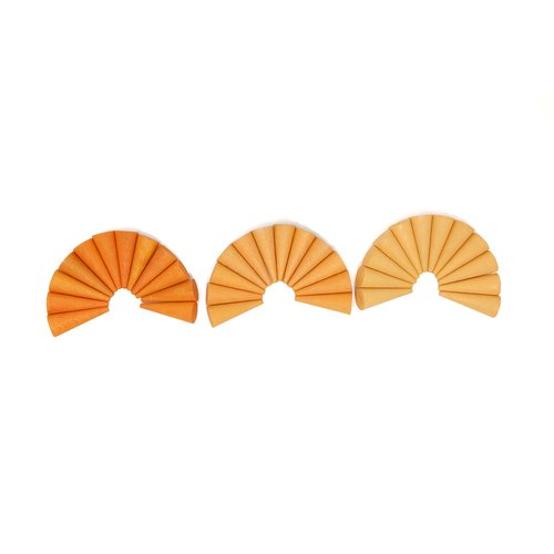 Grapat Grapat Mandala, Oranje kegels