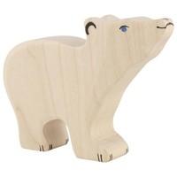 Holztiger - IJsbeer, klein, kop omhoog