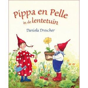 Christofoor Pippa en Pelle in de lentetuin