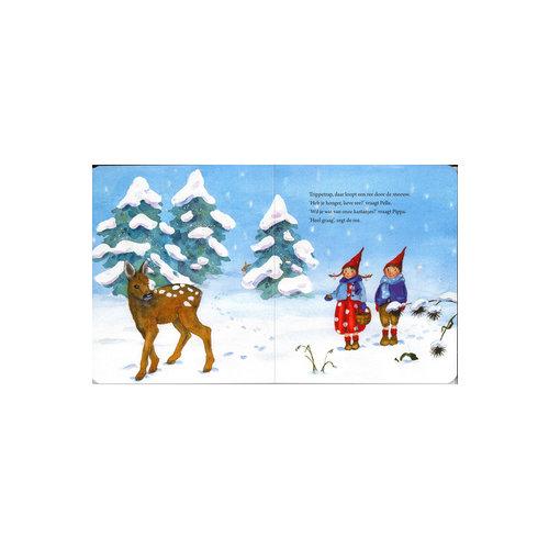 Christofoor Pippa en Pelle in de sneeuw