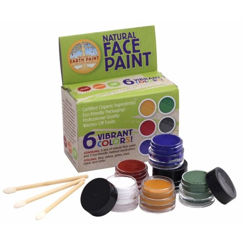 Natural Earth Paint Natural Face Paint Kit