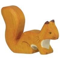 Holztiger - Eekhoorn, staand, oranje
