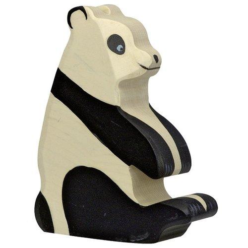 Holztiger Holztiger - Pandabeer, zittend