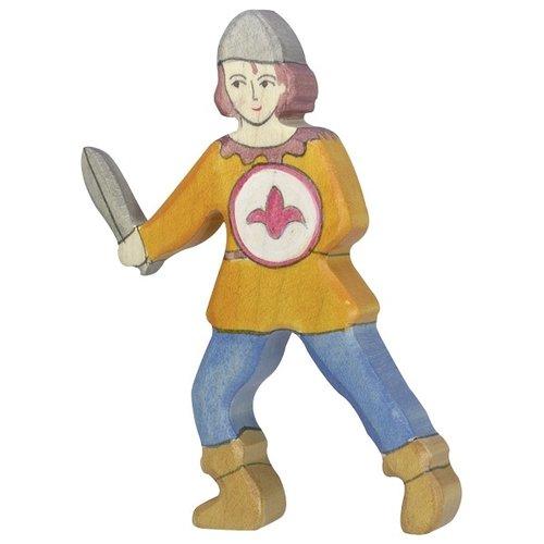 Holztiger Holztiger - Jongen, oranje hemd (Schildknaap)