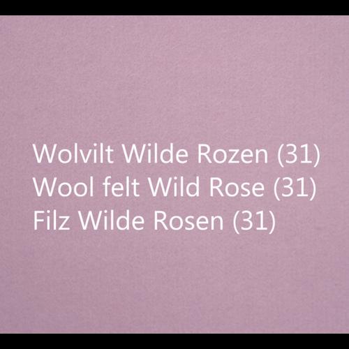 Wobbel Wobbel XL - Blank gelakt wilde rozen