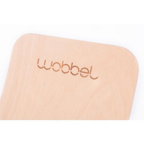 Wobbel Wobbel original - Blank gelakt bladgroen