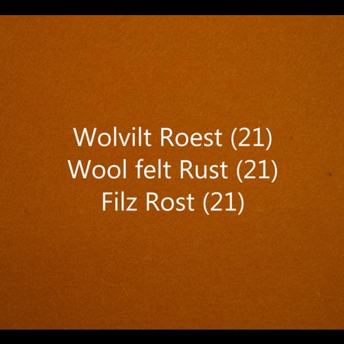 Wobbel Wobbel original - Blank gelakt roest