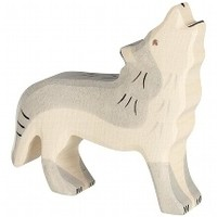 Holztiger - Wolf, huilend