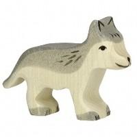 Holztiger - Wolf, klein