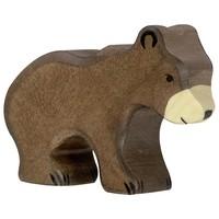 Holztiger - Bruine beer, klein