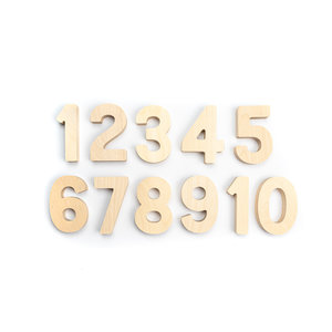 Flockmen Flockmen - set houten nummers (1-10)