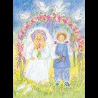 Pinksterbruid en -bruidegom