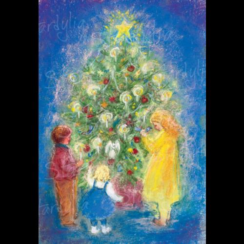 Marjan van Zeyl Om de kerstboom