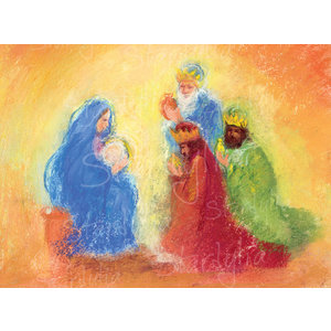 Marjan van Zeyl Aanbidding der Koningen