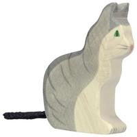 Holztiger - Kat, zittend