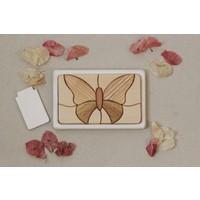Houten puzzel 'Vlinder'