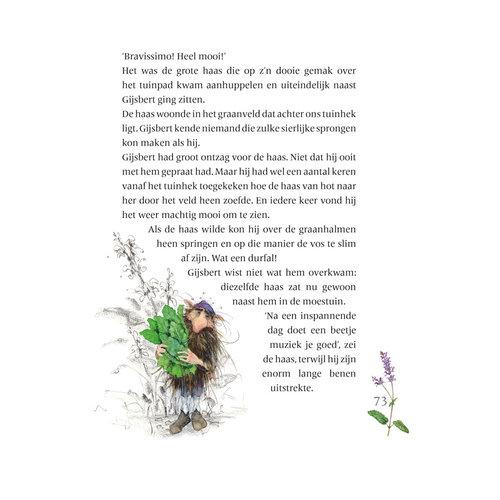 Christofoor Gijsbert hoort het gras groeien