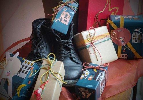 Schoencadeautjes €10 tot €15,-