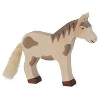 Holztiger - Paard, staand, gevlekt