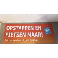 Deskbike Parking space DESKBIKE PARKEERPLEK - MAGNEETPLAAT