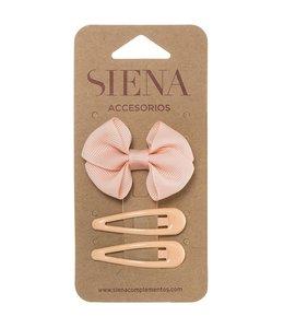 SIENA Set -  Strik met 2 speldjes nude