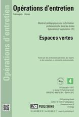 #3018 Espaces vertes pour les agent d'exploitation CFC - Volume 4