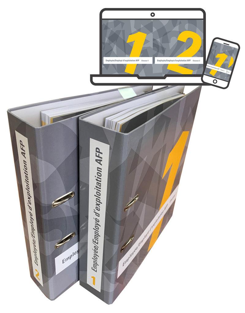Employé/e d'exploitation AFP ensemble du matériel didactique volume 1 et 2