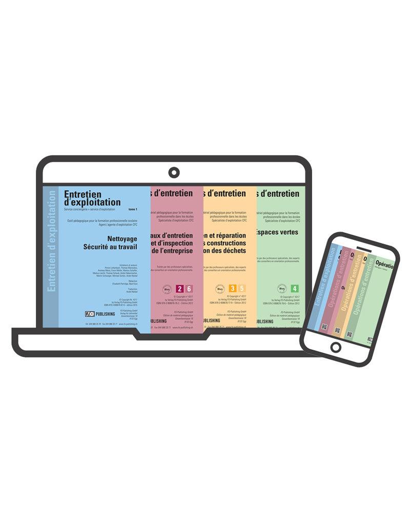 Kit de Entretien d'exploitation CFC Volume 1 - 4