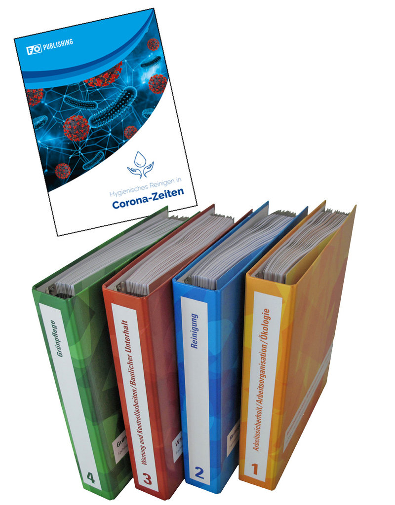 #3013 Lehrmittel-Set Fachmann / Fachfrau Betriebsunterhalt  EFZ Band 1-4