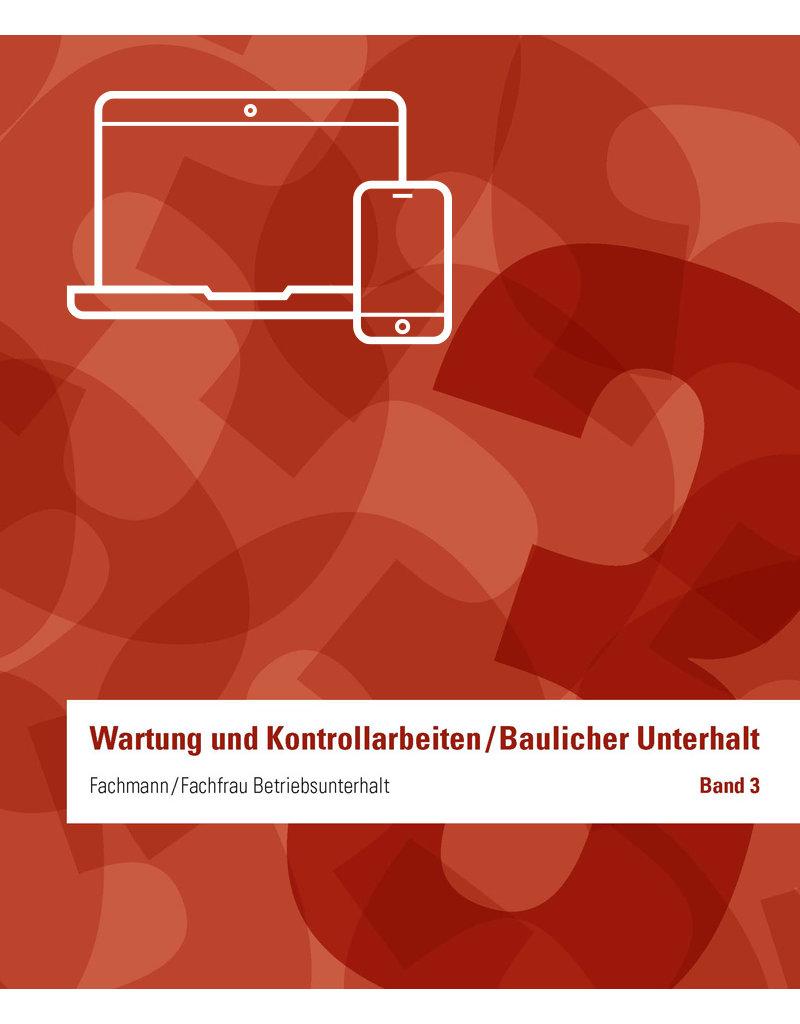 Fachmann/Fachfrau Betriebsunterhalt  EFZ Ordner 3 inkl. E-Book