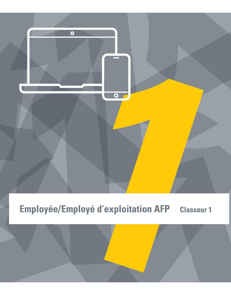 Employé/e d'exploitation AFP 1ère année d'apprentissage  ebook inclus