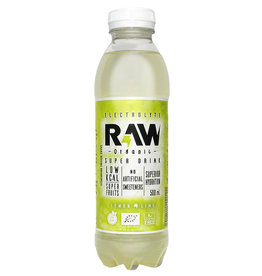 Raw Superdrink Lemon & Lime | 12 stuks